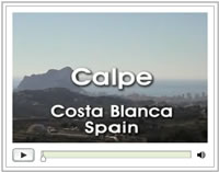 Click here to view the Calpe page with the video and photos
