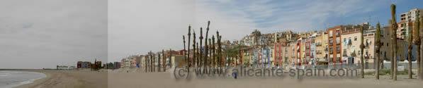 The weather in La Villajoyosa Spain