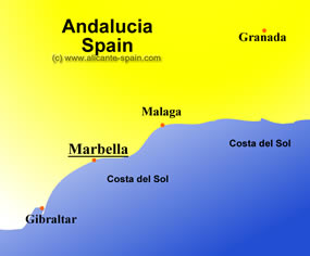 marbella spain map