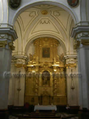 Church of Santiago in Orihuela Spain