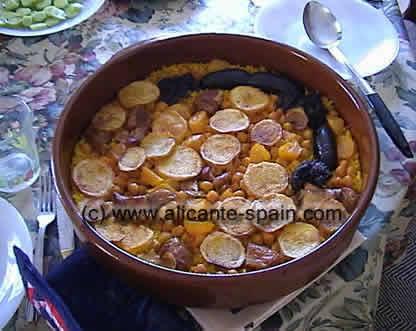 spanish rice recipe in the oven