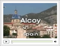 Click here for the short video on the city of Alcoy
