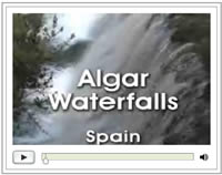 Click here for the short video of the Algar waterfall