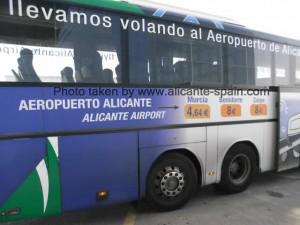 Alicante Airport Bus from Alsa - Running Services To Murcia and Benidorm Calpe