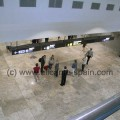 Alicante Airport in Spain - Arrival area