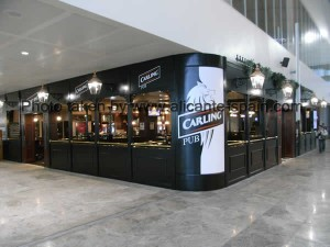 Carling Pub at Alicante airport