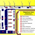 Alicante Airport Departure Area Map