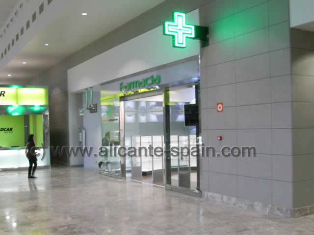 Alicante Airport Service – Lost and Found – Pharmacy etc