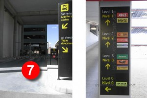 Rental Car Drop Off locations at Alicante Airport