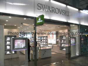 Swarovski Shop at Alicante airport