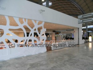 Tapasbar in Departure Area of Alicante Airport