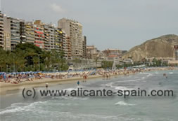 Alicante Beach Postiguet