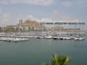 Alicante Harbor View