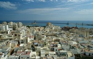 Downtown Almeria Spain