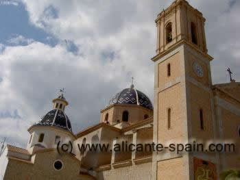 Altea church