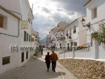 Altea village
