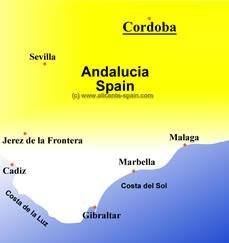 Codoba map