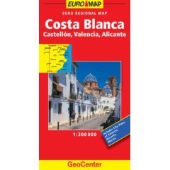 Alicante Costa Blanca Map