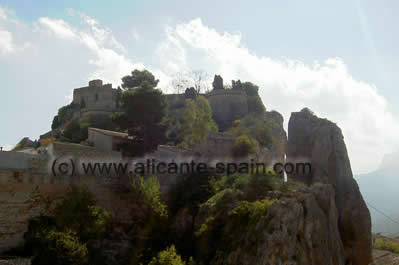 The Castle of Guadalest Costa Blanca Spain