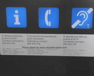 phone number to get assistance for handicapped travelers at the airport