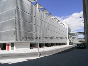 Building for Parking and Car Rent Returns at the airport of Alicante