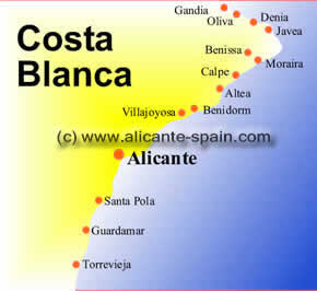 top 10 spain beaches of the northern costa blanca