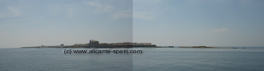 Photo of the island of tabarca