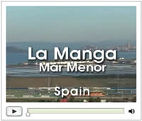 Video about La Manga in Spain