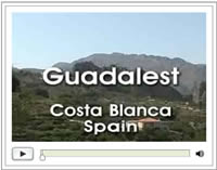 Click here for the short video on Guadalest